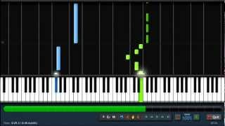 Nicki Minaj - Starships - Easy Piano Tutorial (100%) Synthesia + Sheet Music