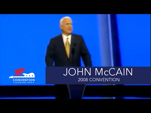 Acceptance Speech | Senator John McCain | 2008 Republican National Convention