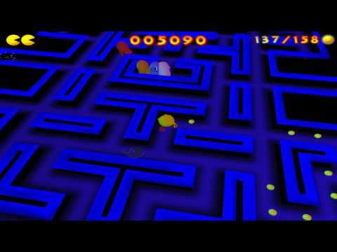 Pac-Man: Adventures in Time - Maze 16-01: Classic - Classic Maze (2000)