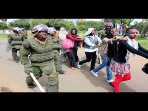 IPOA, KNCHR investigating UoN students' police brutality claims