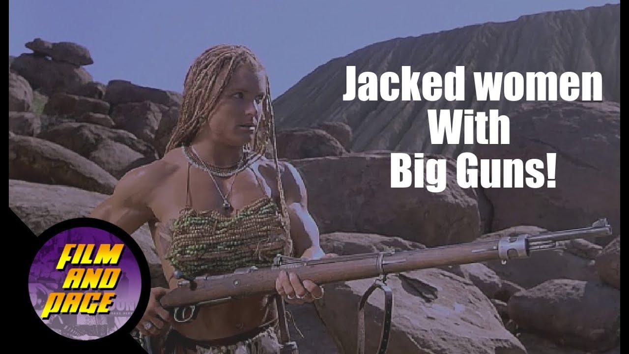 Download Nemesis 2: Nebula (1995) and Nemesis 3: Time Lapse (1996)...Jacked women with big guns!