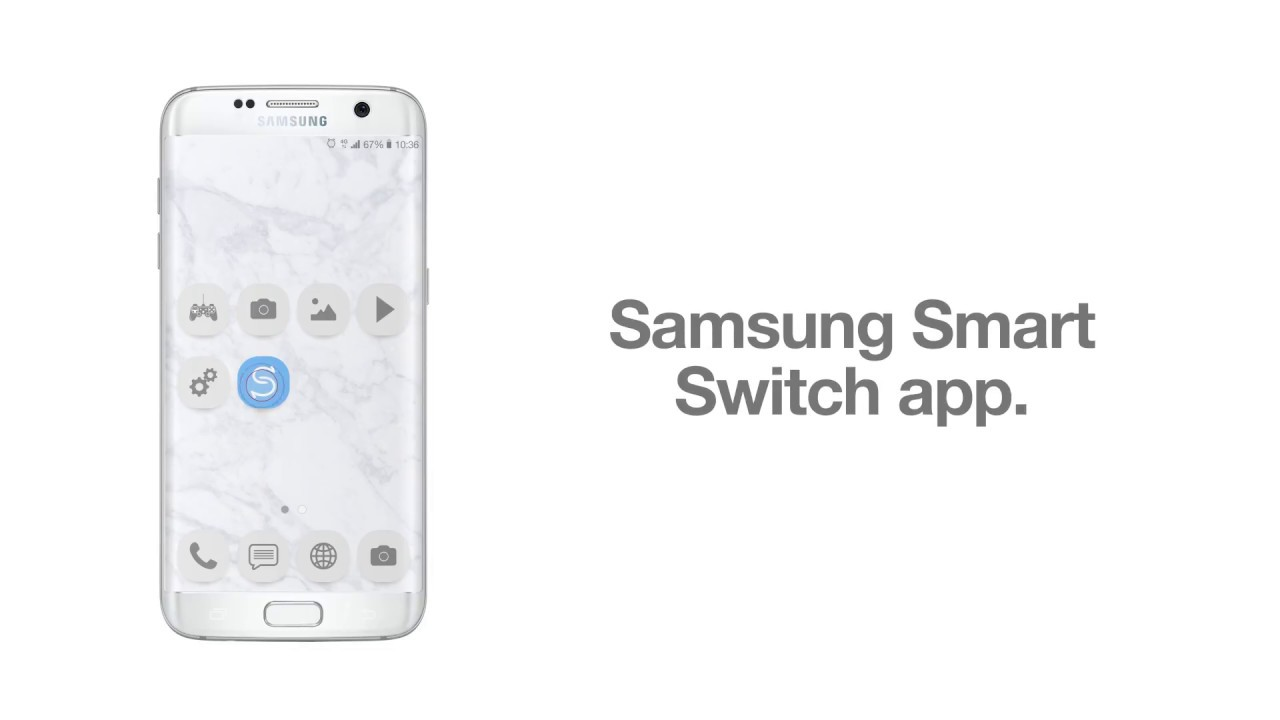 Transfer all your stuff with the Samsung Smart Switch app