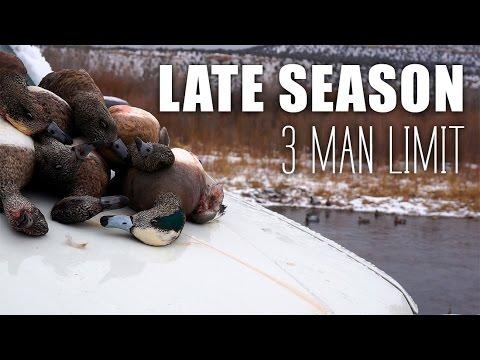 KILLER Utah Late Season Duck Hunt!
