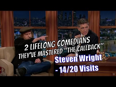 Steven Wright - When Comedians Meet, Weird Comedians - 14/22 Visits In Chronological Order