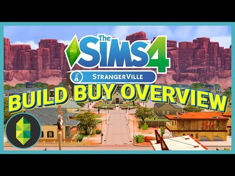 The Sims 4 StrangerVille Build Buy Overview!