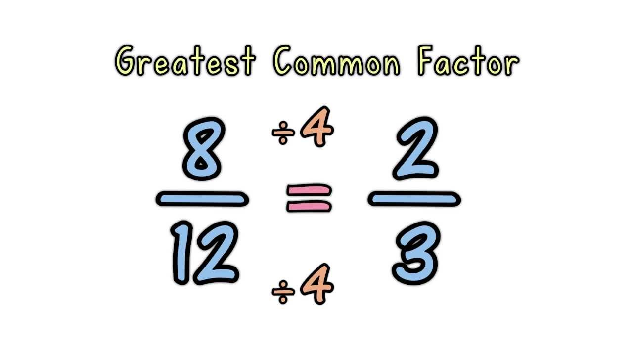 Simplifying Fractions - YouTube