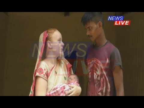 Facebook love-story: German girl Shelly and Assam boy Abani welcome a new life