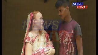 vuclip Facebook love-story: German girl Shelly and Assam boy Abani welcome a new life