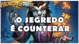 HEARTHSTONE - O SEGREDO É COUNTERAR! (STANDARD TEMPO MAGE)