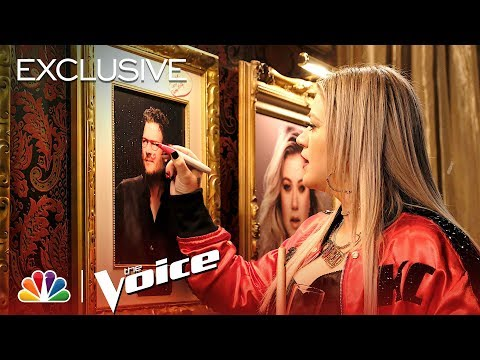 Can Kelly Clarkson Take Down Blake Shelton with Adam Levine's Help? - The Voice 2018 (Exclusive)