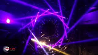 Disco Club Lighting show 梁发勇 夜殿酒吧 BY with Lightsky