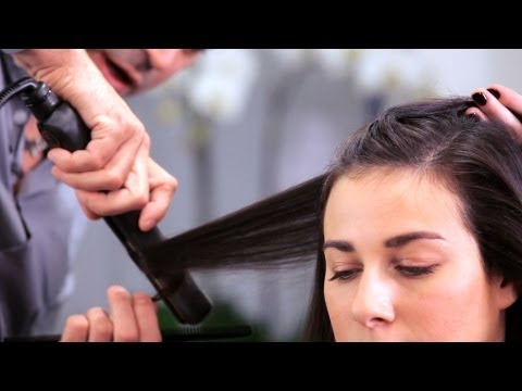 How To Curl Long Hair With Flat Iron