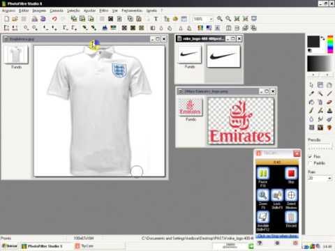 d21384bc1c920 Como Editar Camisas No PhotoFiltre Estudio X - YouTube