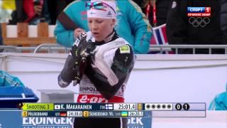 Биатлон  Кубок мира  Этап в Рупольдинге, Германия  Женщины  Индивидуальная гонка