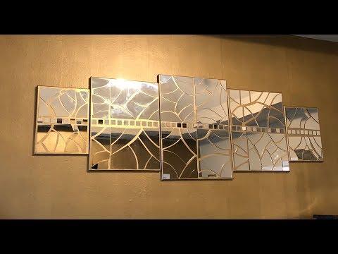 DIY | Gold Mosiac Inspired Wall Art