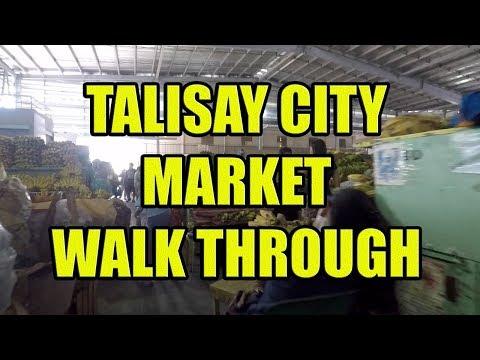 Talisay City Market Walk Through.