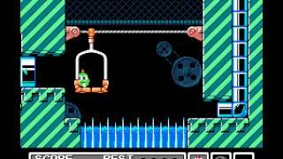 Gimmick! - Gimmick! Walkthrough (NES) - Level 1 - User video