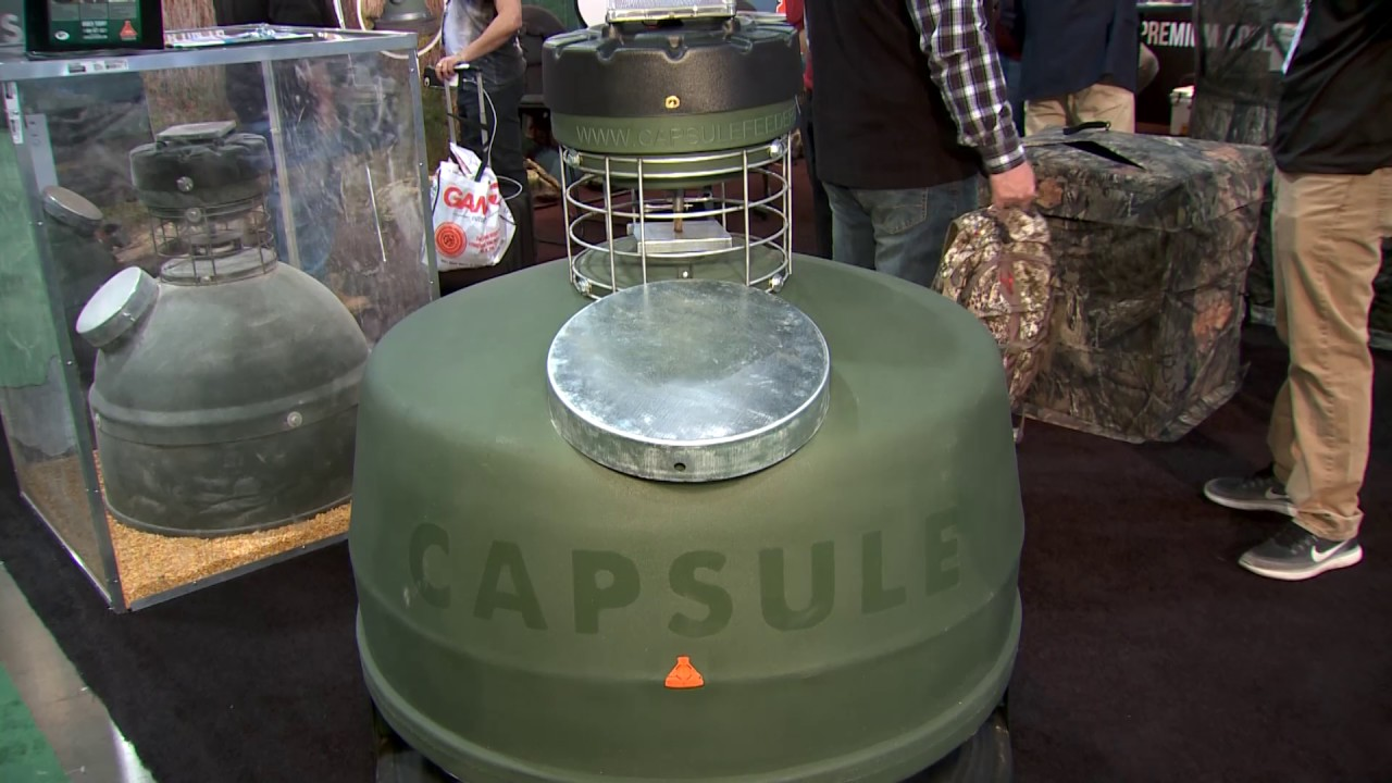 Capsule Deer Feeder Eliminates Waste and Improves Safety