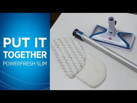 How to Assemble Your PowerFresh® Slim Steam Mop