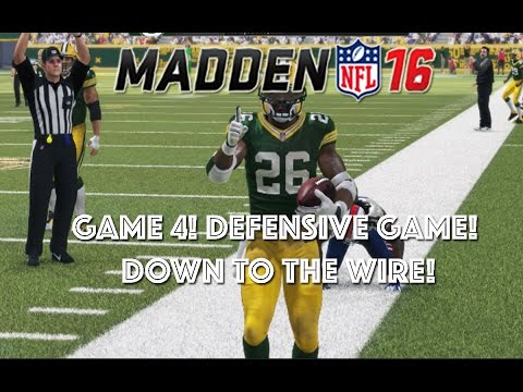 GAME 4! DEFENSIVE GAME! DOWN TO THE WIRE! Madden 16 Draft Champions Ranked
