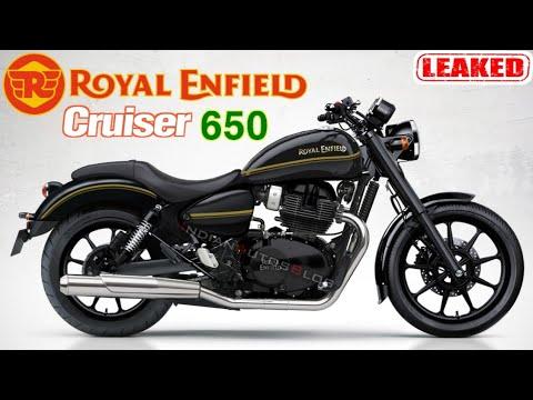 Royal Enfield Cruiser 650 New Leak 2020 Upcoming Royal Enfield Bikes In India Royal Enfield 650 Youtube