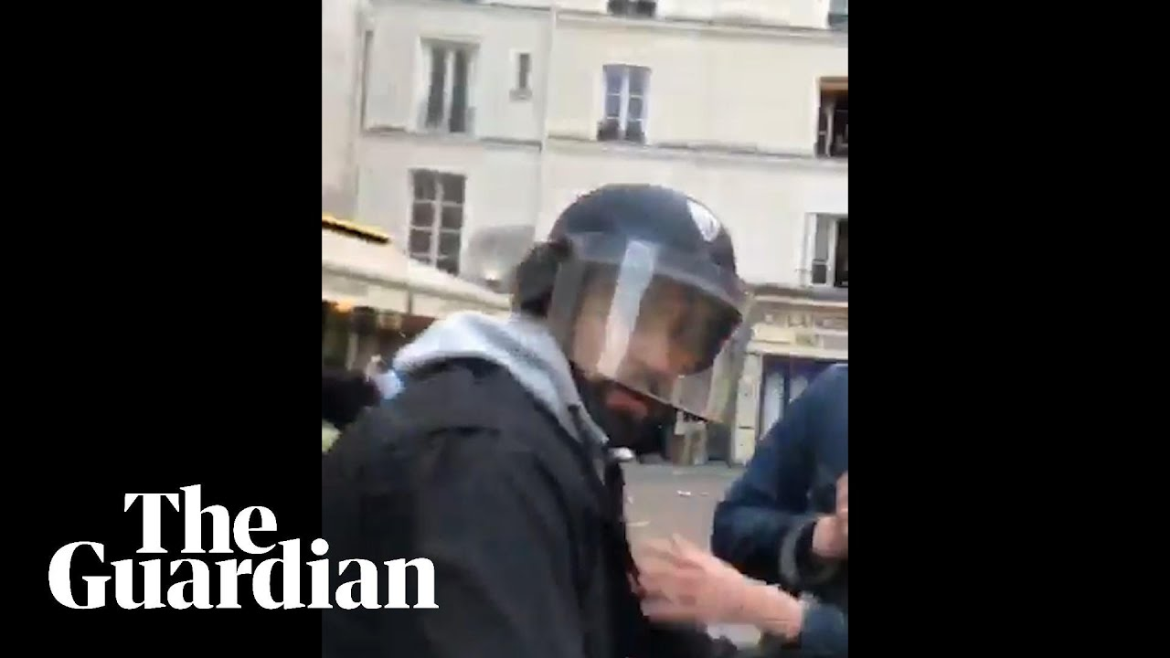 Macron security officer in custody and will be fired over ...