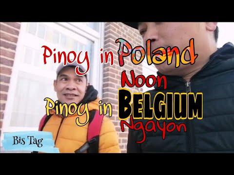 Pinoy in Poland noon Pinoy in Belgium ngayon