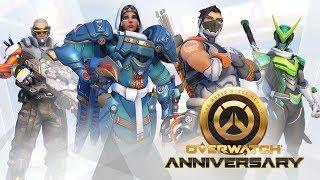 HAPPY ANNIVERSARY, Overwatch!   Overwatch Gameplay - PC