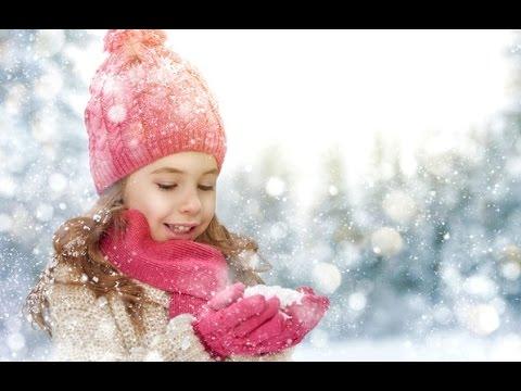 СЕРЕБРИСТЫЕ СНЕЖИНКИ ❉ Новогодние песни для детей - Как поздравить с Днем Рождения