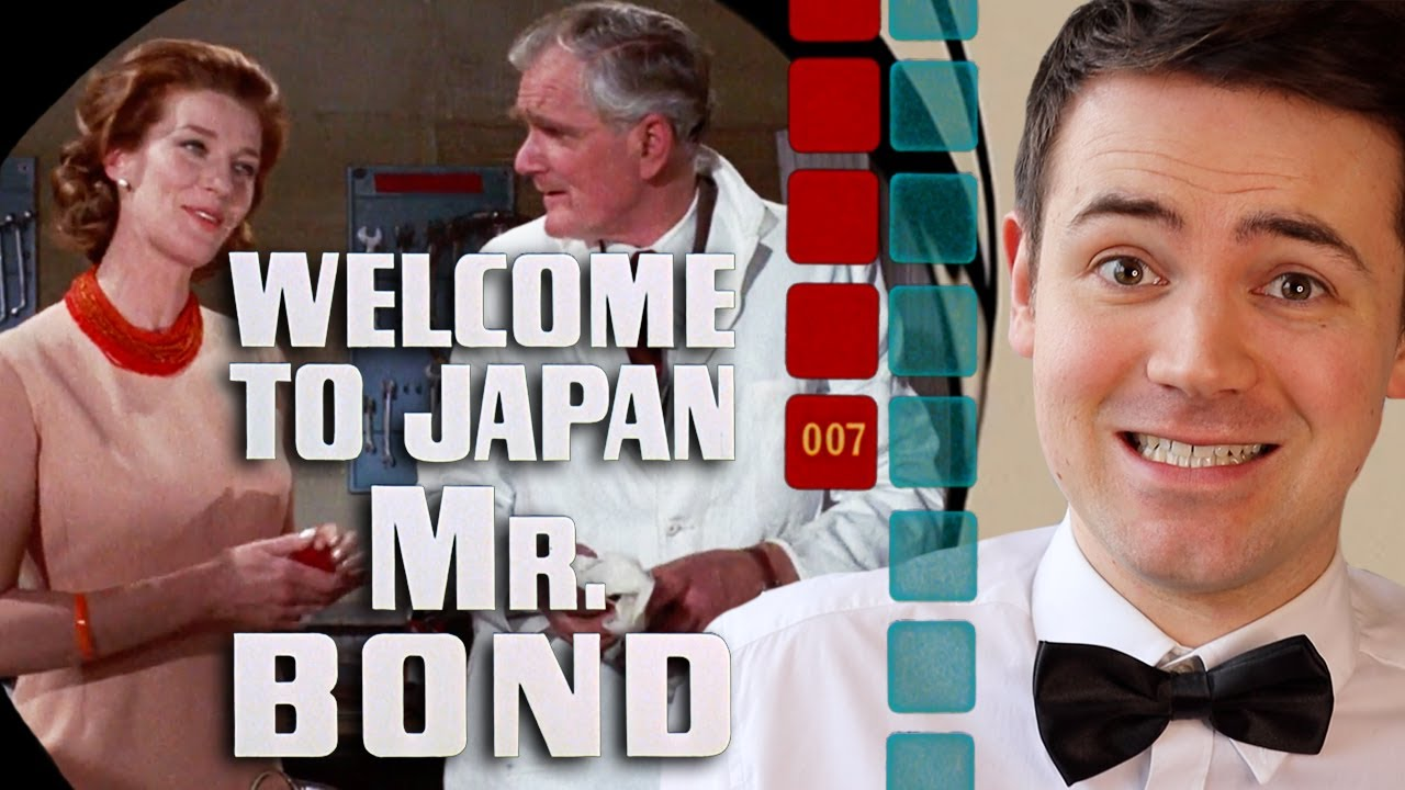 That Time Q Moneypenny Hung Out A Look At Welcome To Japan Mr Bond Youtube