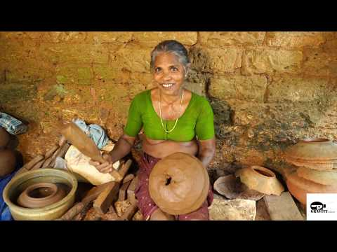Traditional pot making using potters wheel in India (2019) Mp3