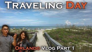 Orlando Road Trip! Traveling Day | Cocoa Beach