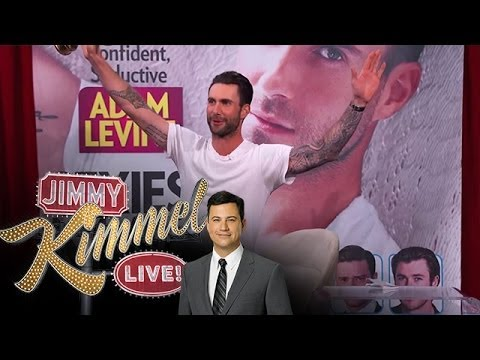 Adam Levine Accepts People's Sexiest Man Alive Award