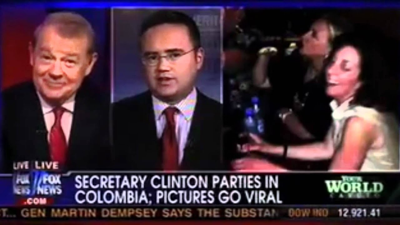 maxresdefault hillary clinton dancing, drinking beer in colombia youtube