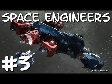 Space Engineers - Epic Ship Collision! #3