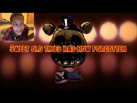 MiatriSs Five Nights At Freddy's 4 Song REACTION | ALL IN YOUR MIND