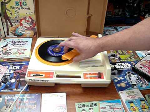 Fisher Price 33 45 RPM Record Player With Play Read Books