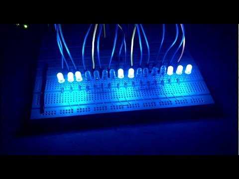 How To Control A LOT Of LEDs With Arduino & 74hc595