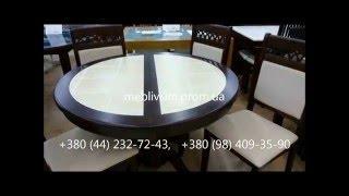 видео Столы из Малайзии: кухонные, обеденные, раздвижные столы