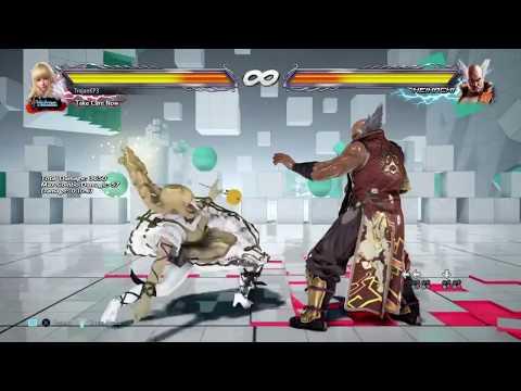 Tekken 7 Lili Setups and Combos