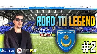 "Parte 1 #2 | Modo Carrera ""Manager"" Fifa 15 | ""Portsmouth FC"" PS4"