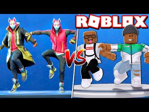 FORTNITE DANCE CHALLENGE IN ROBLOX