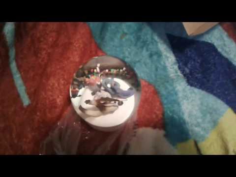 Rio 2 Glitter Globe with Original Box
