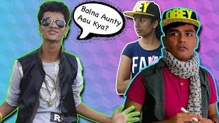 The 'AUNTY KI GHANTI' Rap King Ompraksh Mishra! || Bolna aunty aau kya Part 2