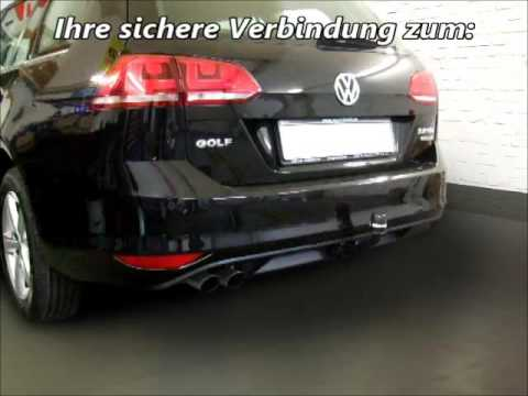 ahk vw golf vii variant abnehmbar 1134915 youtube. Black Bedroom Furniture Sets. Home Design Ideas