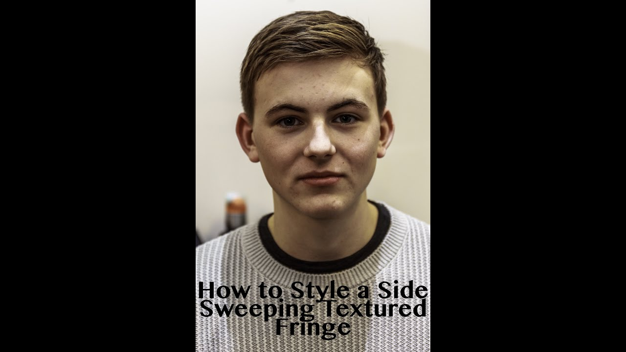 How To Style A Side Sweeping Textured Fringe