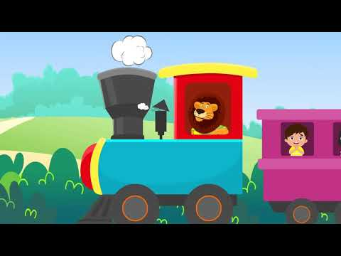 I've Been Working On The Railway   Sing A Long   Nursery Rhyme