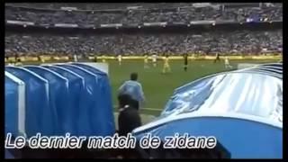 Những phút cuối cùng trong sự nghiệp của Zidane