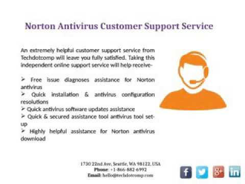 Norton Support Phone Number 1 866 882 6992 USA