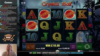 INSANE RUN on Crystal Ball Slot - BIG Bets!